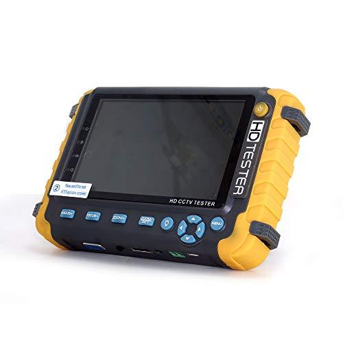 Jarhit 5 Zoll Tft Lcd Hd 5Mp Tvi Ahd Cvi Cvbs Analoge überwachungs Kamera Tester Monitor In Einem Cctv Tester Vga Hdmi Eingang Iv8W (Eu Stecker)