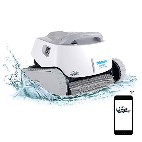 DOLPHIN Mercury Automatic Robotic Pool Cleaner with WiFi Control for Stress-Free Pool Cleaning,...