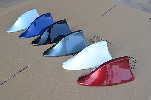 Exoca™ - Antenne radio en forme d'aileron de requin pour VW, Ford, Chevrolet, Nissan, Peugeot, Toyota, Opel