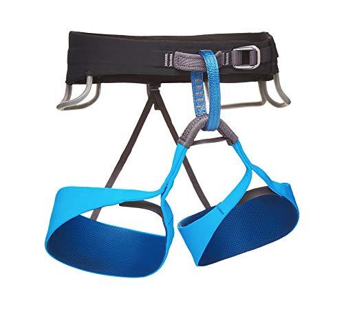 Harnais Black Diamond Solution Harness Men Black / Ultra Blue M