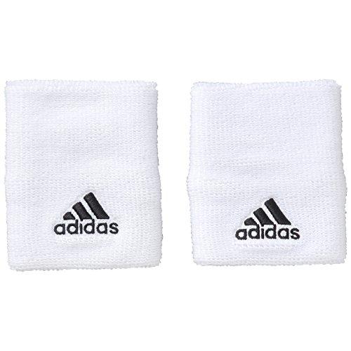 adidas Kinder Schweißarmband Tennis L Schweißband, White/Black, L