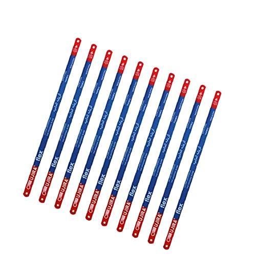 100 PCS sierra para metales reemplazo Rebanadas Mano sierra de metal de 300 mm Rebanadas 24T Sierras Rebanadas Negro