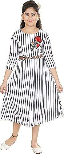 Girl s Maxi Dress VF181B 42 White 14 15 Years