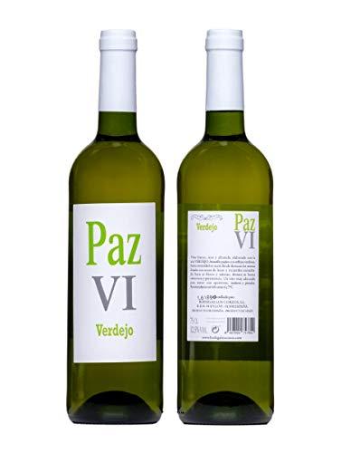 Vino Blanco Verdejo Paz VI vino verdejo - Botellas 1 x 750 ml