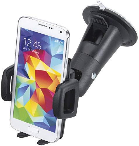 Smart Planet Kfz Smartphone Halterung Handy Auto Halter universal 5,9 bis 8,9 cm Breite - kompatibel mit Galaxy S9 S10e iPhone X XR OnePlus HTC Xiaomi