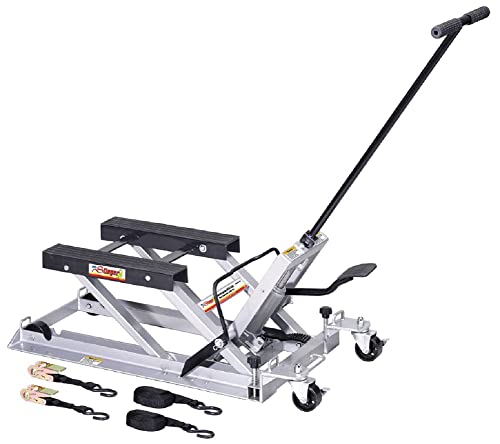 OTC 1545 Ultra Low Profile Motorcycle and ATV Lift with 1,500 lb. Capacity