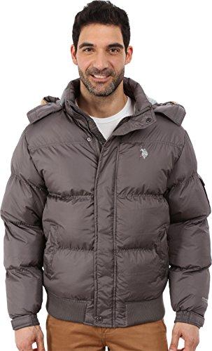 U.S. Polo Assn. Men's Short Snorkel Jacket, Castle Rock, X-Large