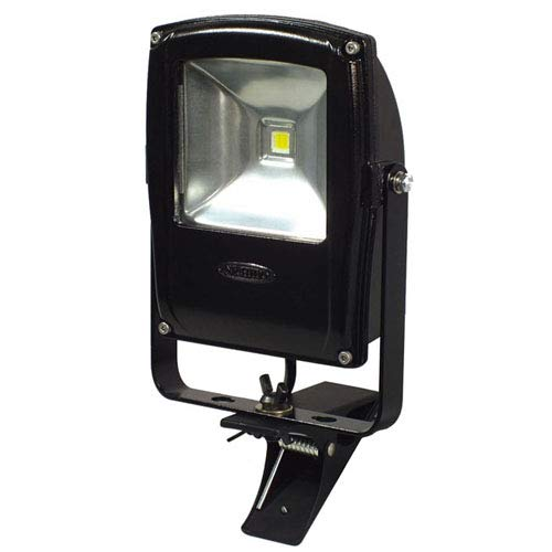 日動 フラットライト10W 昼白色 本体黒 クリップタイプ LEN-F10C-BK 投光器(LED)