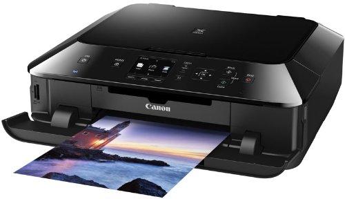 Canon Pixma MG5450 Tintenstrahl-Multifunktionsgerät (Kopierer, Scanner, Drucker, USB) schwarz