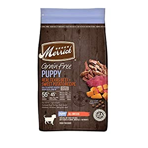 Merrick Puppy Dry Dog Food with Real Meat