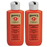 HOPPE'S No. 9 Lubricating Oil, 2-1/4 ounces Bottle (2-Pack)