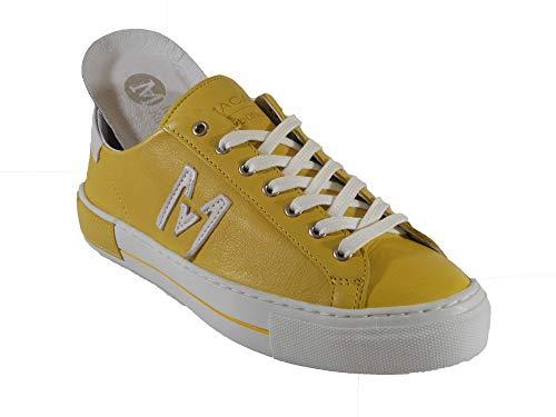 Maca Kitzbühel Sneaker, Schnürschuh, Antikleder Yellow (gelb), 2635 (Numeric_38)