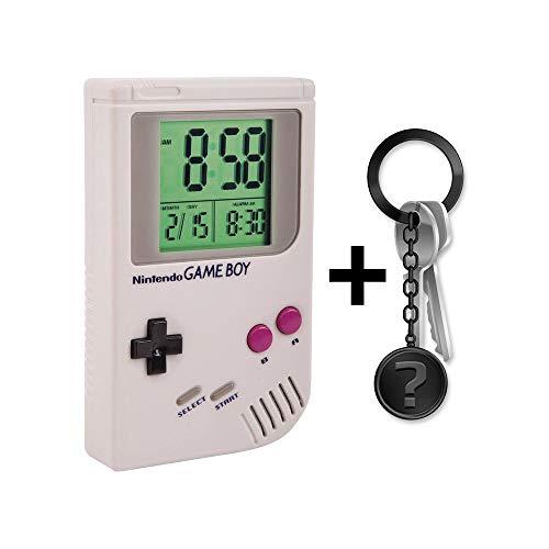 yvolve Game Boy - Wecker | Offizielles Merchandise | Set inkl. Schlüsselanhänger