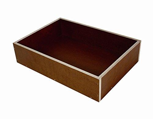 Elmato 12832 Buddelkiste, Sand-Chinchillabadehaus, 35 x 25 cm