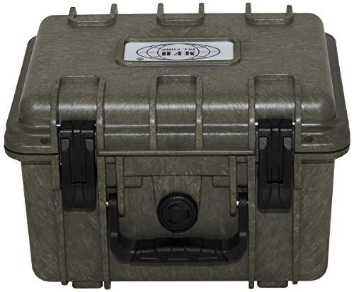 MFH Box, Kunststoff, wasserdicht, oliv, 26,7 x 23,9 x 17,6 cm