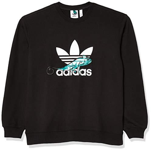 adidas Originals Adidas Pt3 - Sudadera para hombre -  Negro -  X-Large