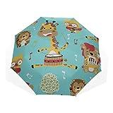Ombrelli di arte del tamburo basso nazionale tradizionale di arte per adulti 3 piega (ombrello bambini viaggio ombrelli donna pioggia viaggio ombrello all'aperto