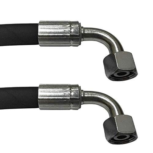 Hydraulikschlauch 5200mm 2SN DN12(13) 15L   Gewinde M22x1.5   DKOL90 - DKOL90   Nenndruck 275bar   Hydraulik Schlauch   Hydraulikschläuche