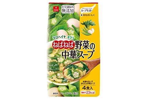 アスザックフーズ ねばねば野菜の中華スープ 4食P ×5個