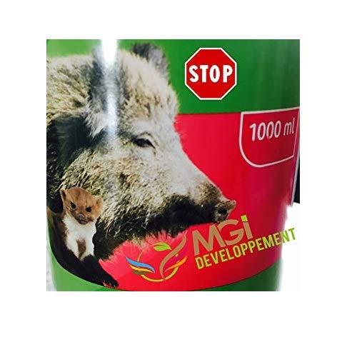 Abwehrmittel gegen Wildschweine, 1°l Schutz gegen Wildtiere.