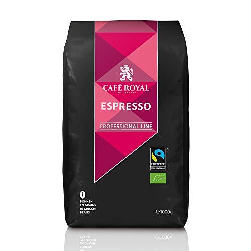 Café en grains Espresso certifié Bio 5x1 kg Café Royal Pro