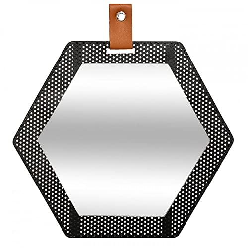 HOGAR Y MAS Miroir industriel pour coffre 30 x 34 cm