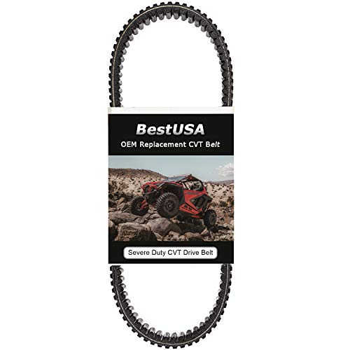 CVT Carbon Drive Belt for 2002-2019 Yamaha Rhino/Grizzly 550/660/700 28P-17641-00-00, 5KM-17641-01-00, 3B4-17641-00-00, 5KM-17641-00-00