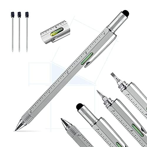 Pitagora Smart Pen,Penna Multifunzione 9 in 1,Regalo Originale Uomo Papà,Gadget Tecnologico