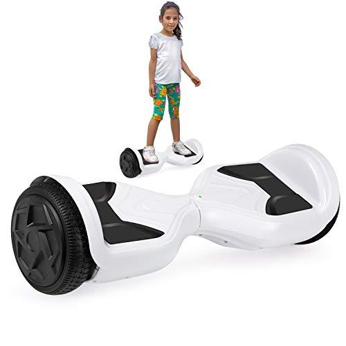 Hoverboard, 6.5 inch Self Balancing Scooter Hoverboard Hover Scooter Board mit Bluetooth Musik und leistungsstarkem Motor für Kinder und Jugendliche