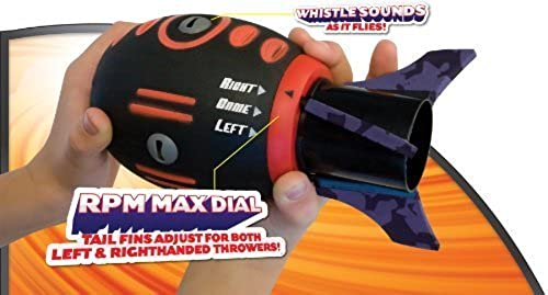 Geospace FLY MAX Football with RPM Turbine Technology, Adjustable for Right- or Left-Handed Throwers by GeoSpace