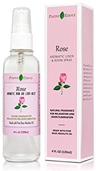 Rose Linen and Room Spray Natural Pillow Spray Made with Pure Rose Essential Oils Relaxing Home Fragrance or Toilet Spray Rose Water Spray
