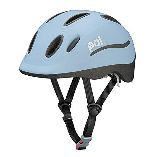 オージーケーカブト(OGK KABUTO) 自転車 ヘルメット 子ども用 PAL(パル) ウォーターブルー 児童用(頭囲:49~54cm)