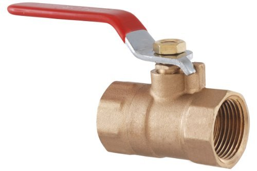 LDR 022 2203 1/2-Inch CXC Ball Valve, Lead Free Brass by LDR Industries