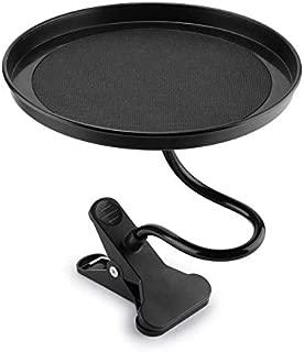 Car Food Tray/Desk 360º Adjustable,Snack Tray,Drink Tray Non-Slip,Black