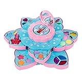 LIUCHANG Kinderwaschbare Makeup Set Mädchen Mode Kosmetik Make-up Spielzeug for kleine Mädchen Prinzessin Geburtstagsgeschenk Geschenk liuchang20