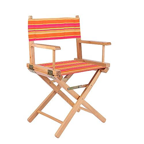AEUWIER Regiestühle Ersatzbezüge, Regiestuhlbezüge, Bezug für Stühle für Gartenstuhl, Hocker-Schutz & Schimmelfeste Canvas-Sitzbezüge