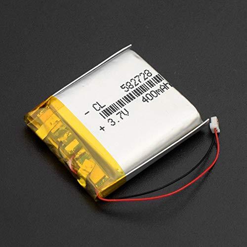 RFGTYH 582728 3,7 V 400 mAh Wiederaufladbarer Li-Polymer-Li-Ionen-Akku für Q50 G700S K92 G36 Y3 Smartwatch für Kinder mp3 Bluetooth-Headset 1Pc