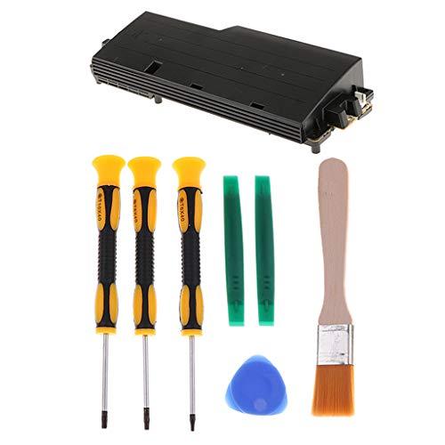 Shiwaki Bloc D'alimentation De Remplacement Pour Console Sony PS3, Série APS-270 APS-250 APS-200 Avec Jeu De Tournevis Pour Kit De Réparation De Contrôleur T6