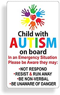 Best autism alert sticker Reviews