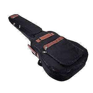 Gitarrenrucksack Schultergurte Taschen 8mm Cotton Padded Gig Bag Case für 41 Zoll Gitarre