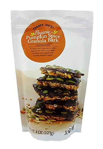 Trader Joe's Organic Pumpkin Spice Granola Bark Gluten Free 8 Oz.