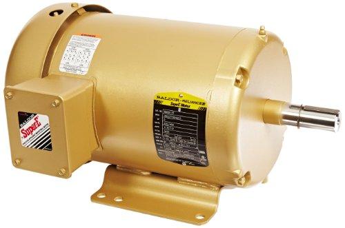 Baldor EM3613T General Purpose AC Motor, 3 Phase, 184T Frame, TEFC Enclosure, 5Hp Output, 3450rpm, 60Hz, 230/460V Voltage