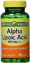 spring valley alpha lipoic acid 200mg