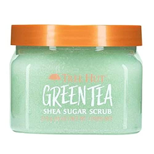 Tree Hut Green Tea Shea Sugar Scrub, 18oz