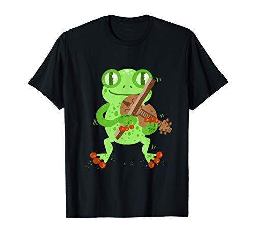 Frosch spielt Geige T-Shirt