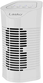Lasko HF11200 Desktop Air Purifier with 3-Stage Air Cleaning System