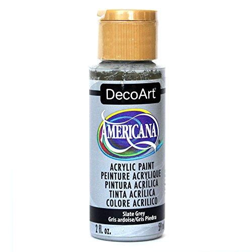 Deco Art Americana Peinture Acrylique Multi-Surface Gris Ardoise 59 ML