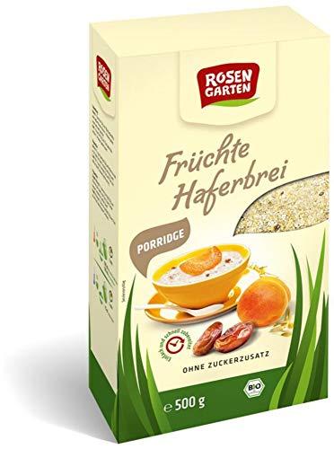 Rosengarten Bio Porridge Früchte-Haferbrei (6 x 500 gr)