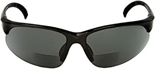 Sport Wrap Bifocal Sunglasses - Outdoor Reading/Activity Sunglasses - Soft Pouch Included