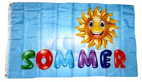 Fahne/Flagge Sommer Sonne 90 x 150 cm